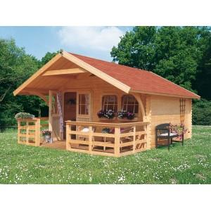 Zahradn domek d ev n karibu doderic 5 for Scivoli in legno per giardini