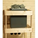 9 kW kamna s integrovaným ovládáním